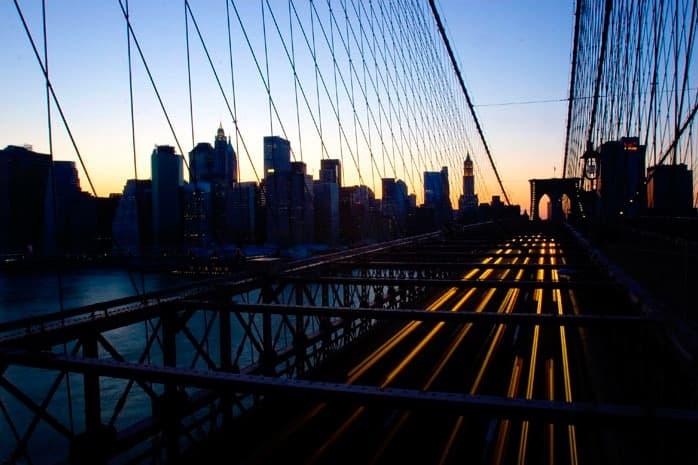 Brooklyn Bridge trafik