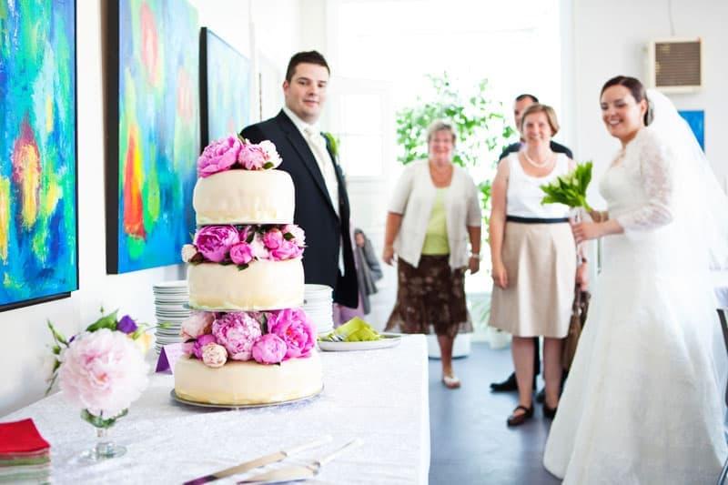 Bryllup fotograf – Bryllupskagen