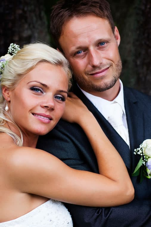 Bryllupsfotografering – Brudeparret – On location – del 6