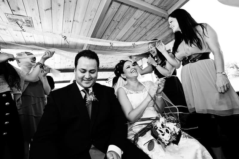 Bryllups foto – sommerbryllup ved Furesø Marina – del 3