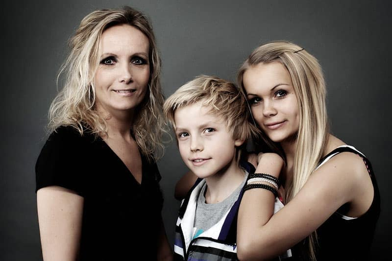 Familie portræt billede