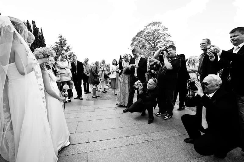 Så mange fotografer… – Bryllupsfotograf