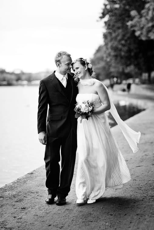Bryllupsfotograf København – Fotografering ved søerne i København – del 1