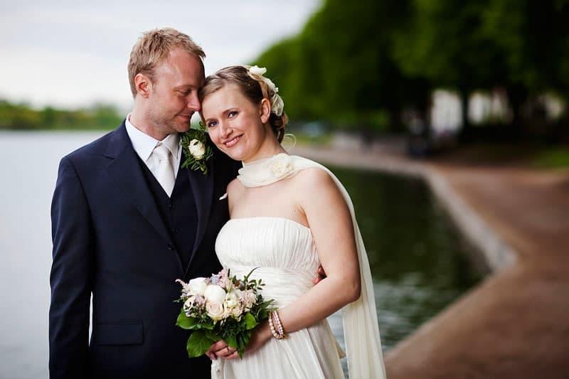 Bryllupsfotograf København – Fotografering ved søerne i København – del 2