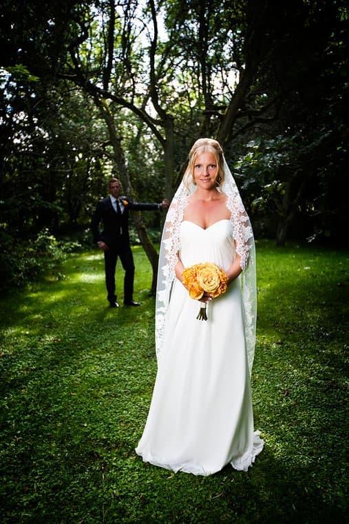 Bruden og gommen - Bryllup fotograf