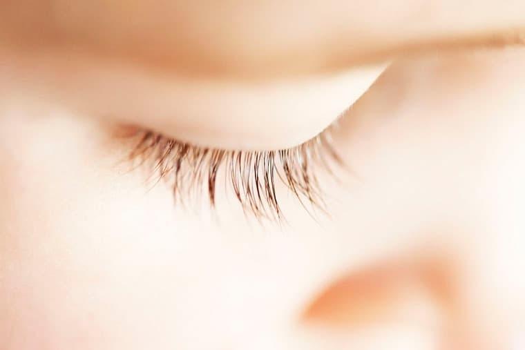 Closeup af øje – barn