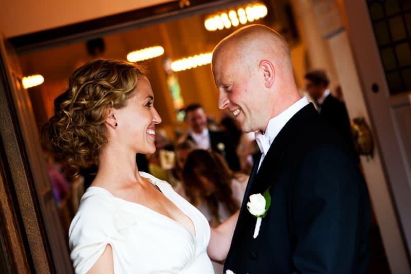 Bryllupsfotograf – efter vielsen