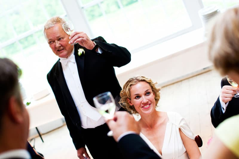 Bryllupsfotograf – talen til bruden