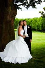 Fotograf bryllup – billede af brudeparret – 1