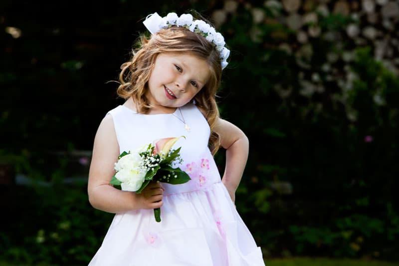 Bryllupsfotografering – brudepigen