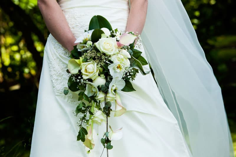 Bryllupsfotografering – brudebuket