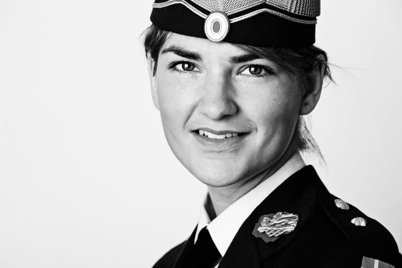 Officer portræt