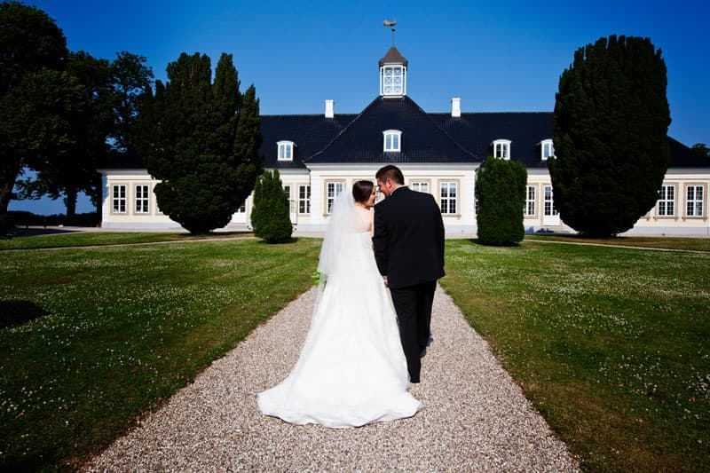 Bryllup fotograf – Sophienberg Slot – del 1