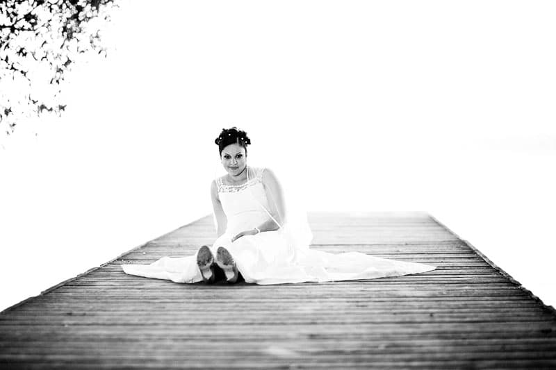 Bryllups foto – sommerbryllup ved Furesø Marina – del 2