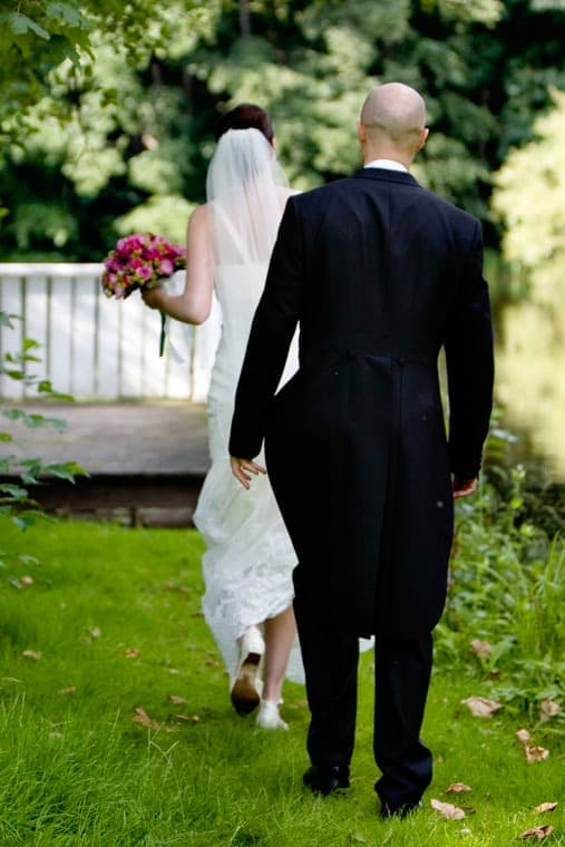Bryllupsfoto - del 2