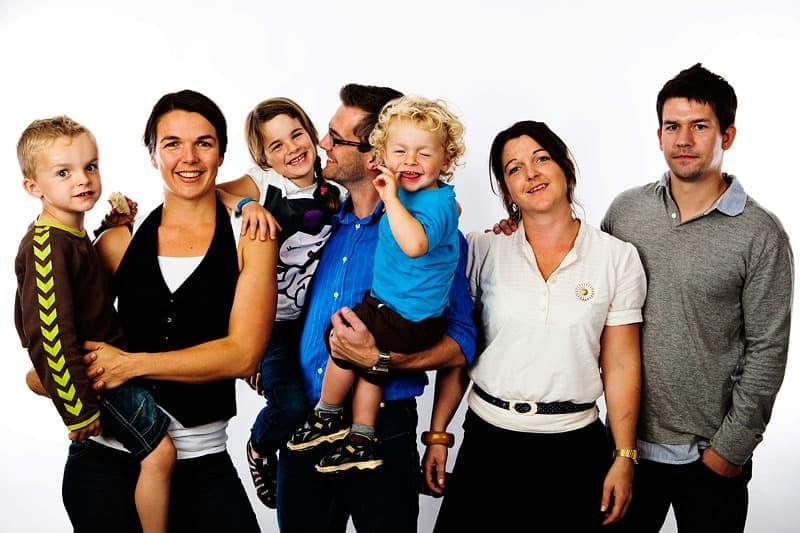 Familieportræt fotograf
