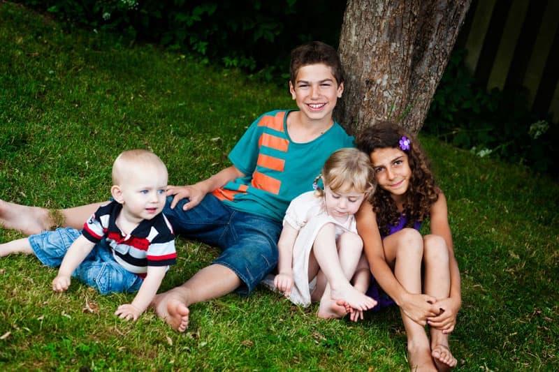 Gruppebillede af børn – del 2