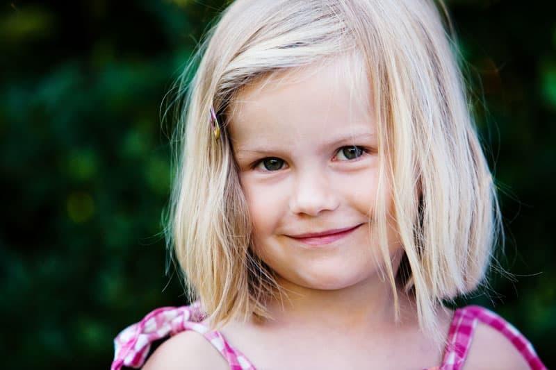 Børneportræt i haven – del 2