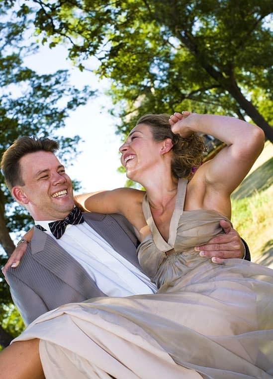 Bryllupsfotografering ved Kastellet - del 2