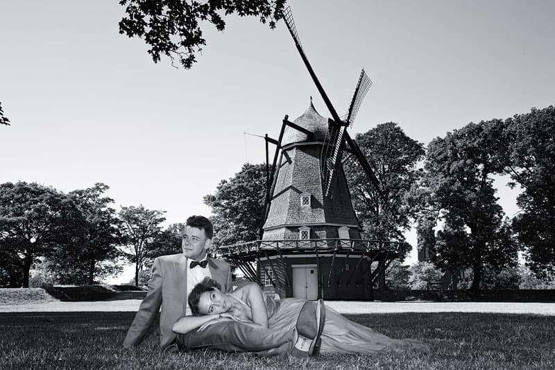 Bryllupsfotografering ved Kastellet – del 3