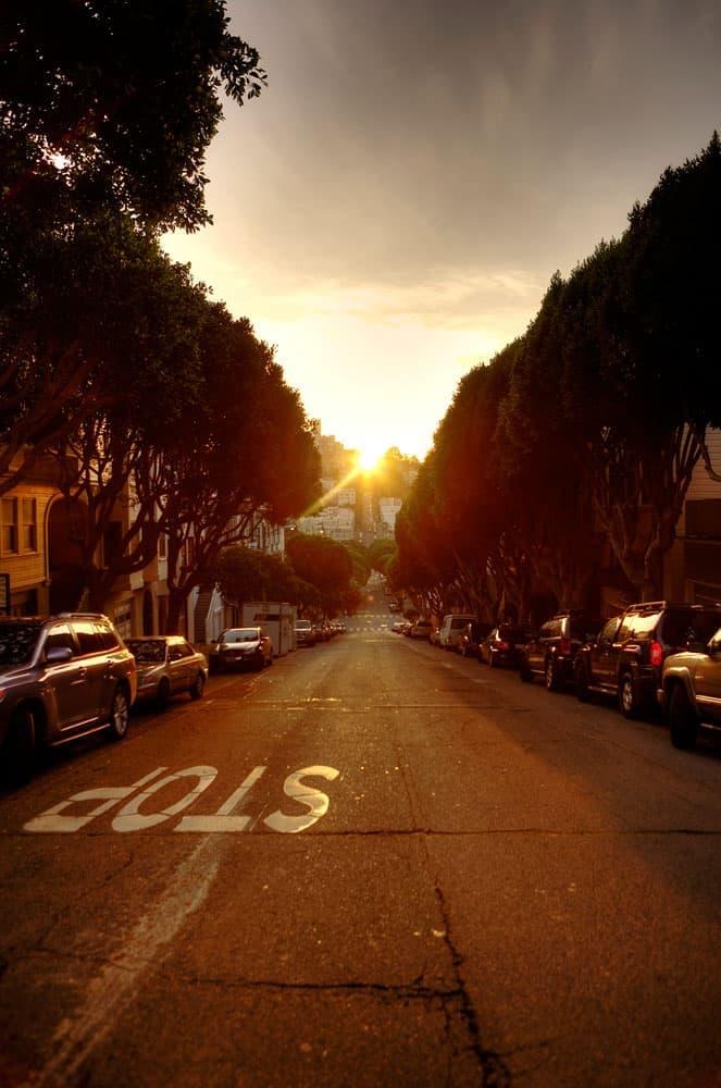 Gaderne i San Francisco - del 1