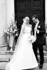 Brudeparret rises – del 1 – Hørsholm Kirke