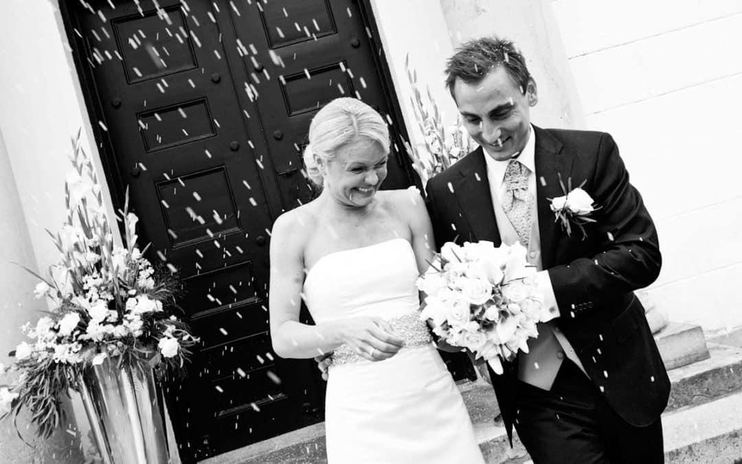 Brudeparret rises – del 2 – Hørsholm Kirke