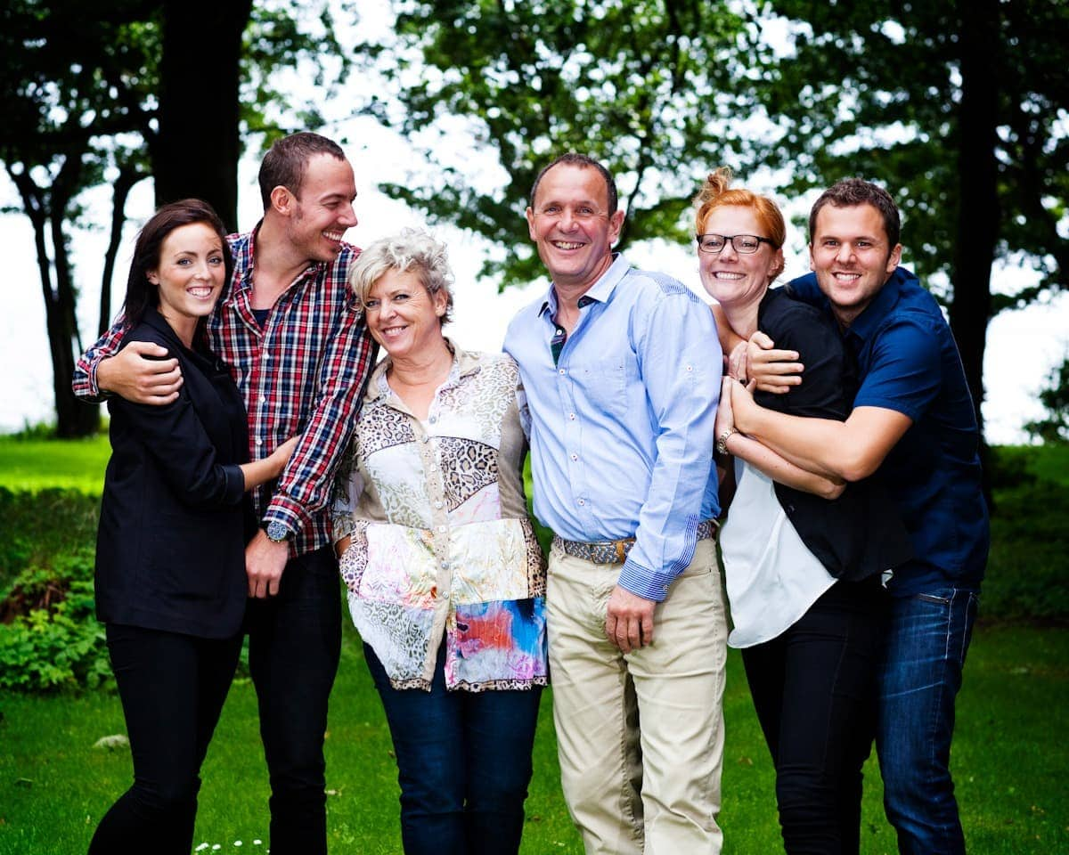 Familieportræt i haven - del 1
