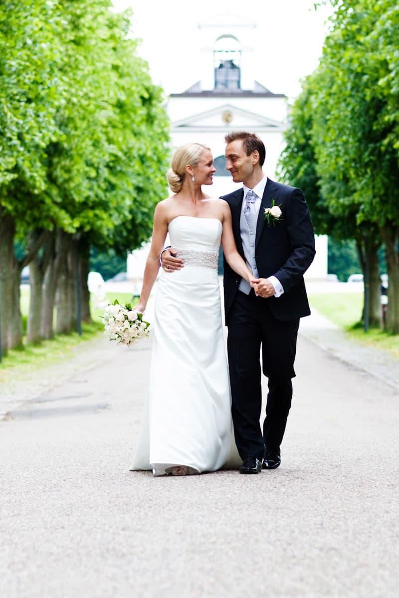 Bryllupsfotograf – Hørsholm Kirke
