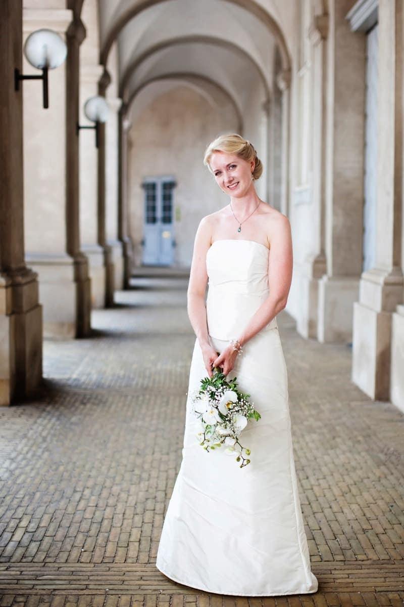 Bruden – Fotograf ved Christiansborg Ridebane