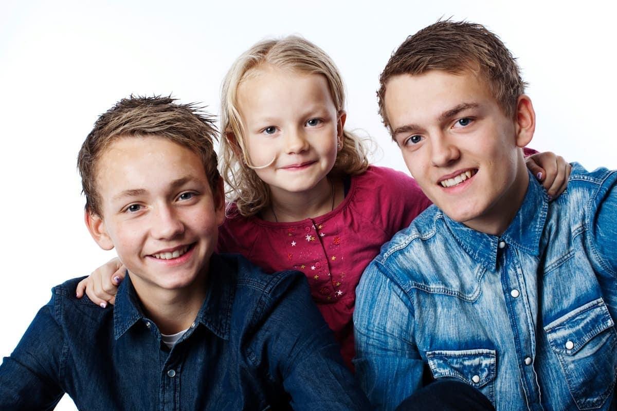 Familiefoto i Virum