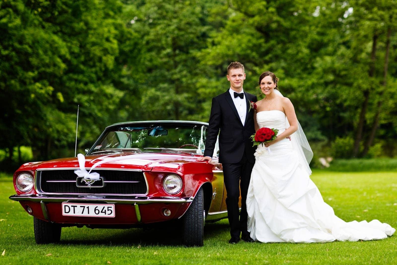 Bryllupsfotografering – location Schæffergården