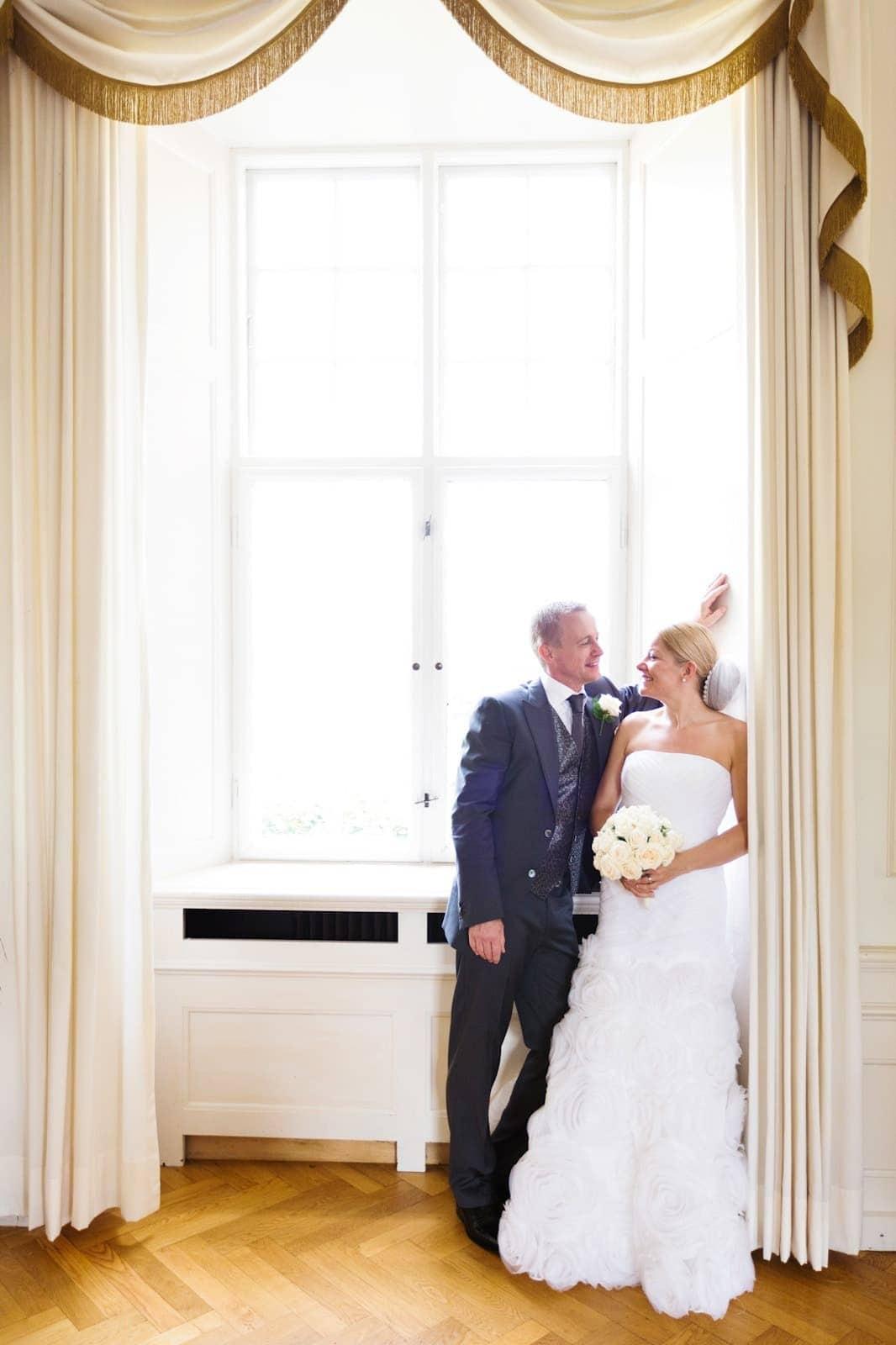 Bryllup på Næsbyholm Slot