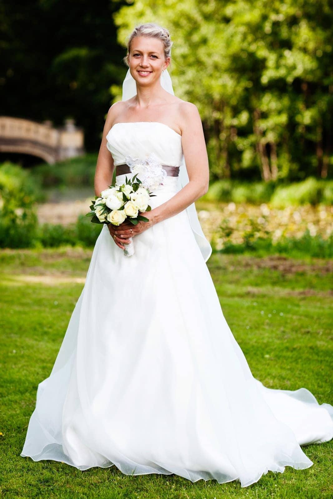 Aldershvile slotspark – Bryllupsbillede