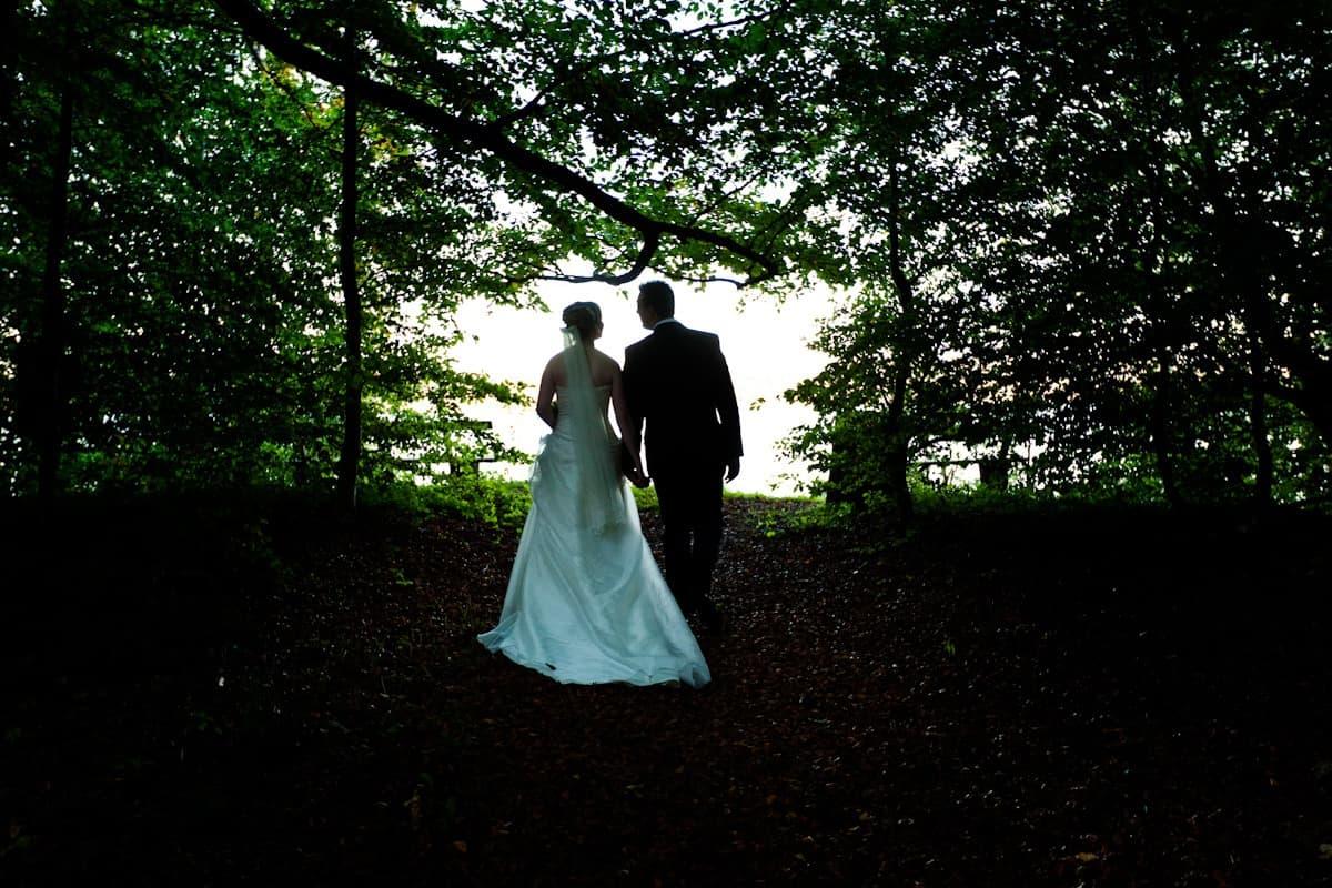 Bryllupsfotograf ved Jægerhuset, Holte