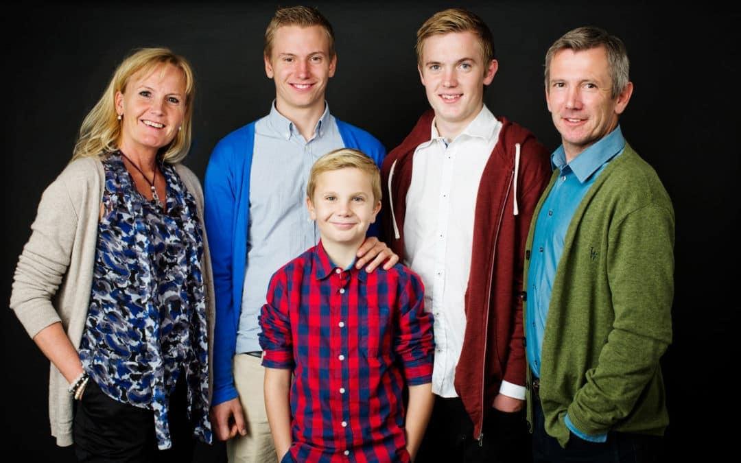 Familiebillede – med voksne børn