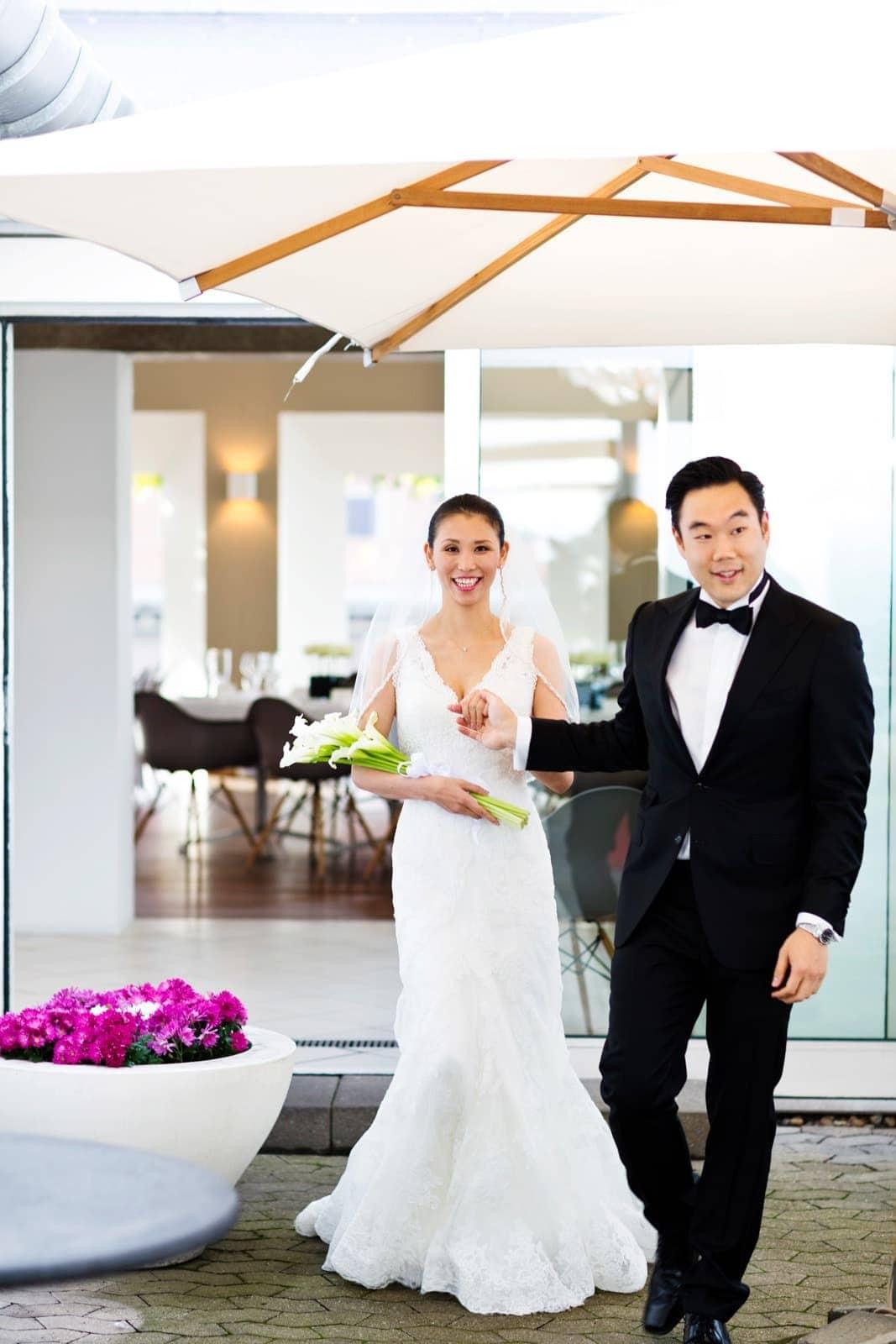 Bryllupsreception - Restarant Paustian