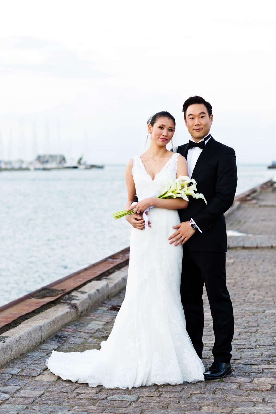 Bryllup – Nordhavn ved Restaurant Paustian