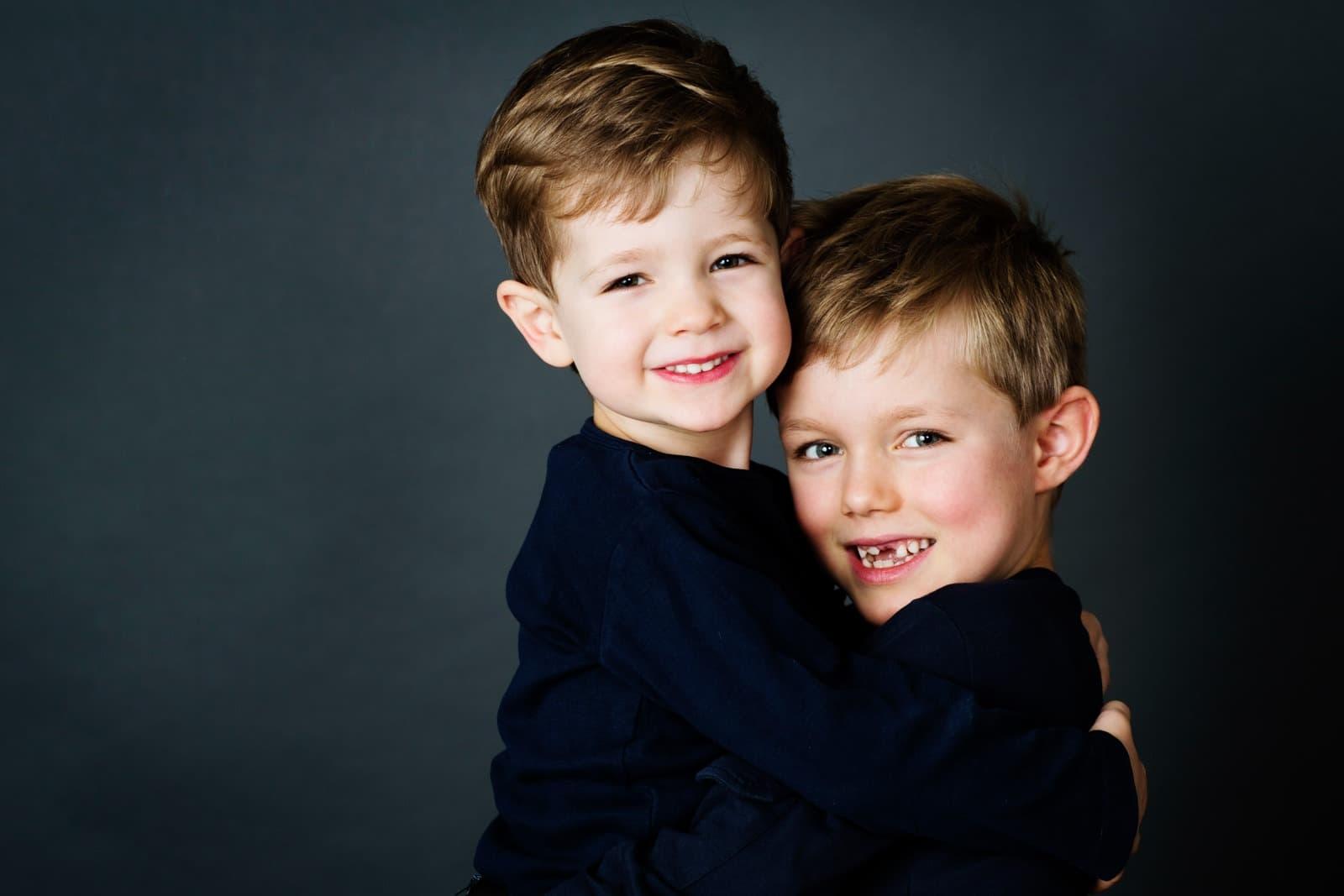 Portrætfoto brødre