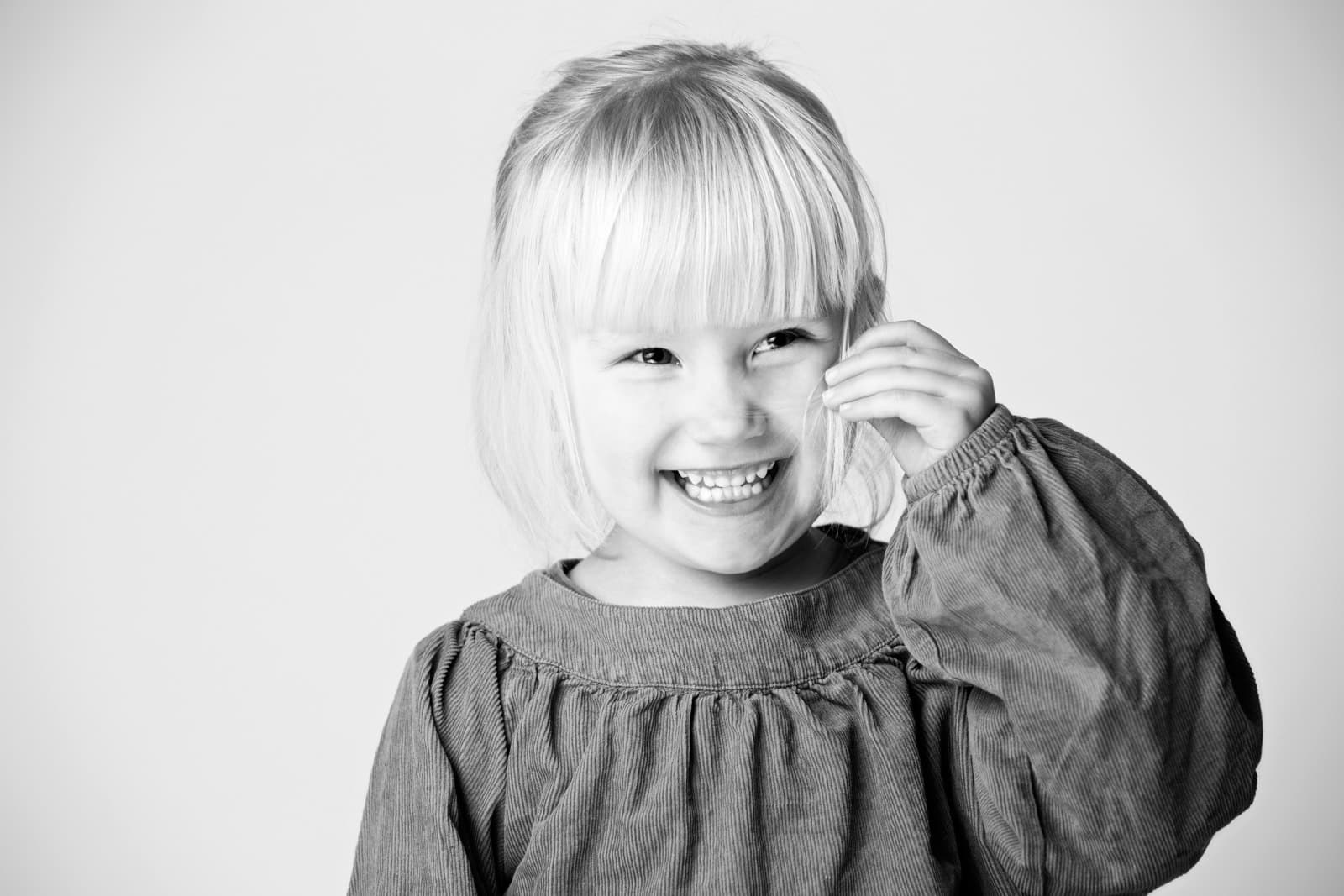 Pige - Fotograf ved Lyngby