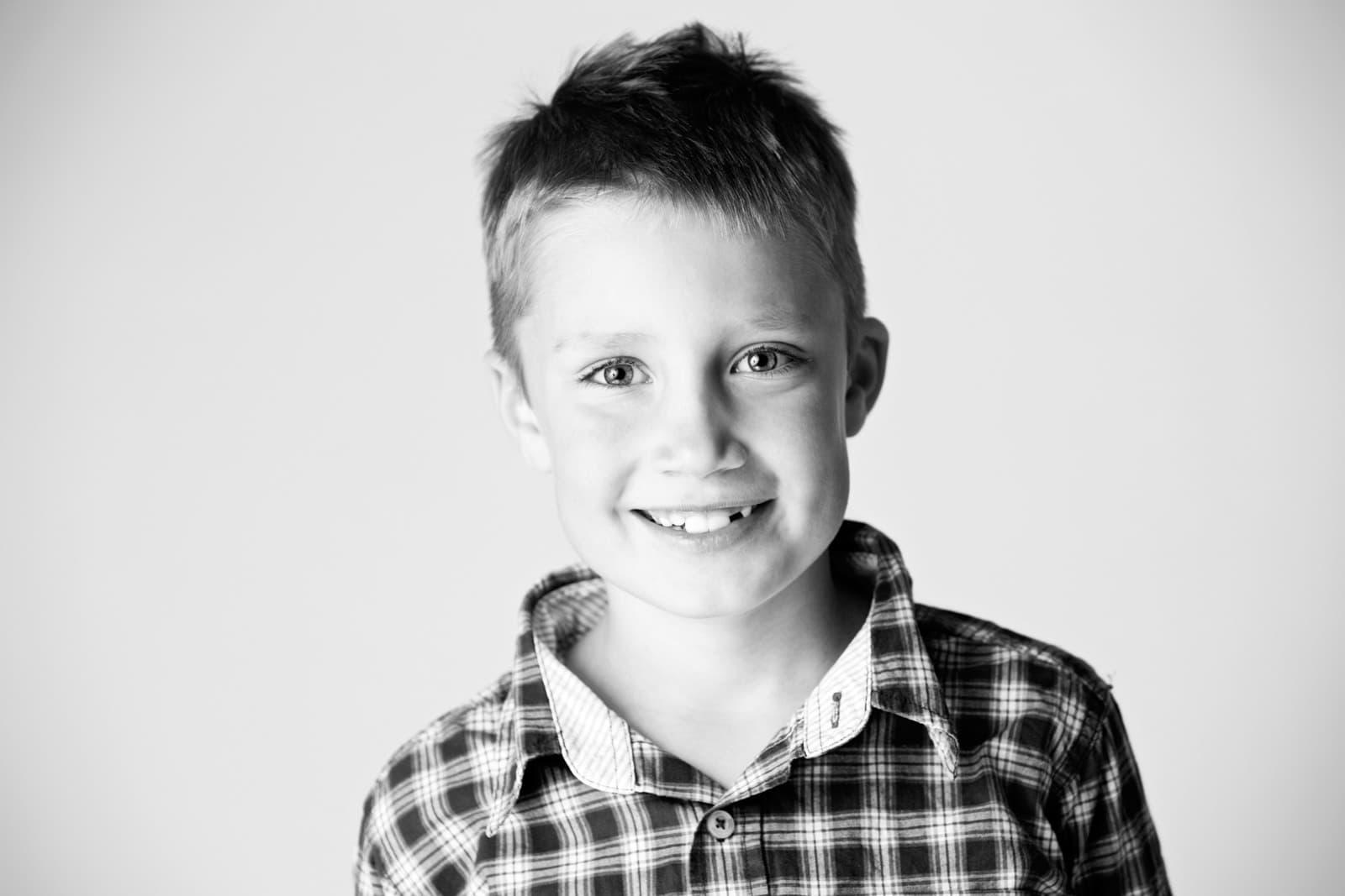 Dreng - Fotograf ved Lyngby