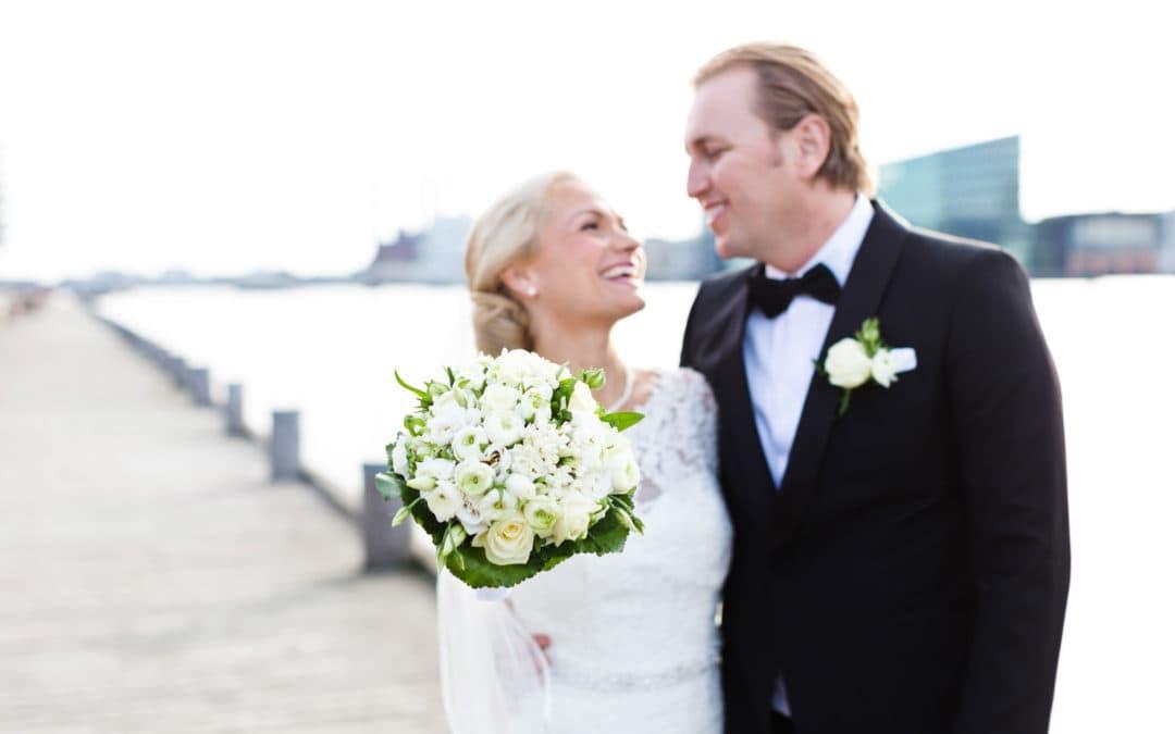 Brudepar ved Islands Brygge – del 3