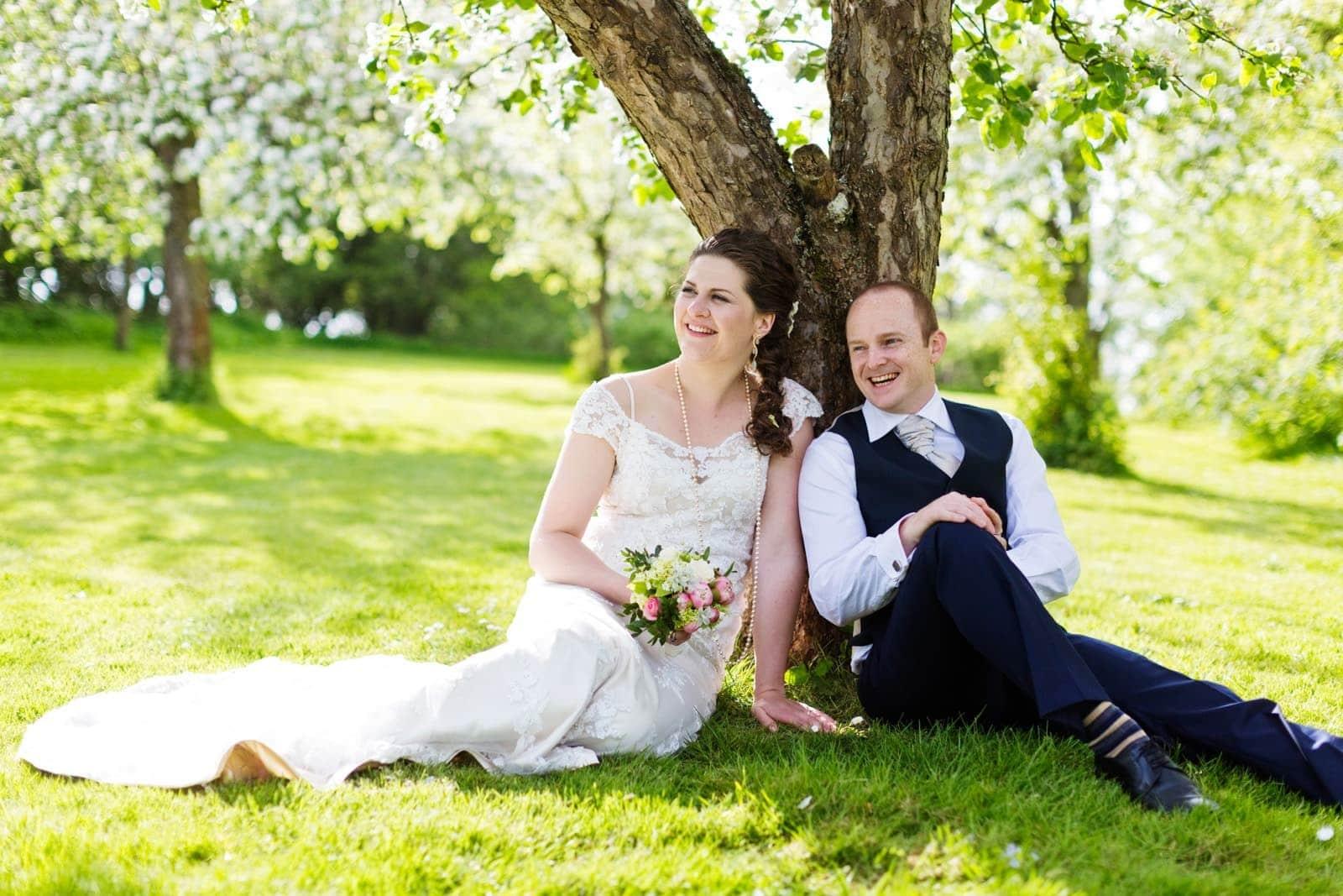 Bryllupsfotograf ved Sonnerupgaard Gods