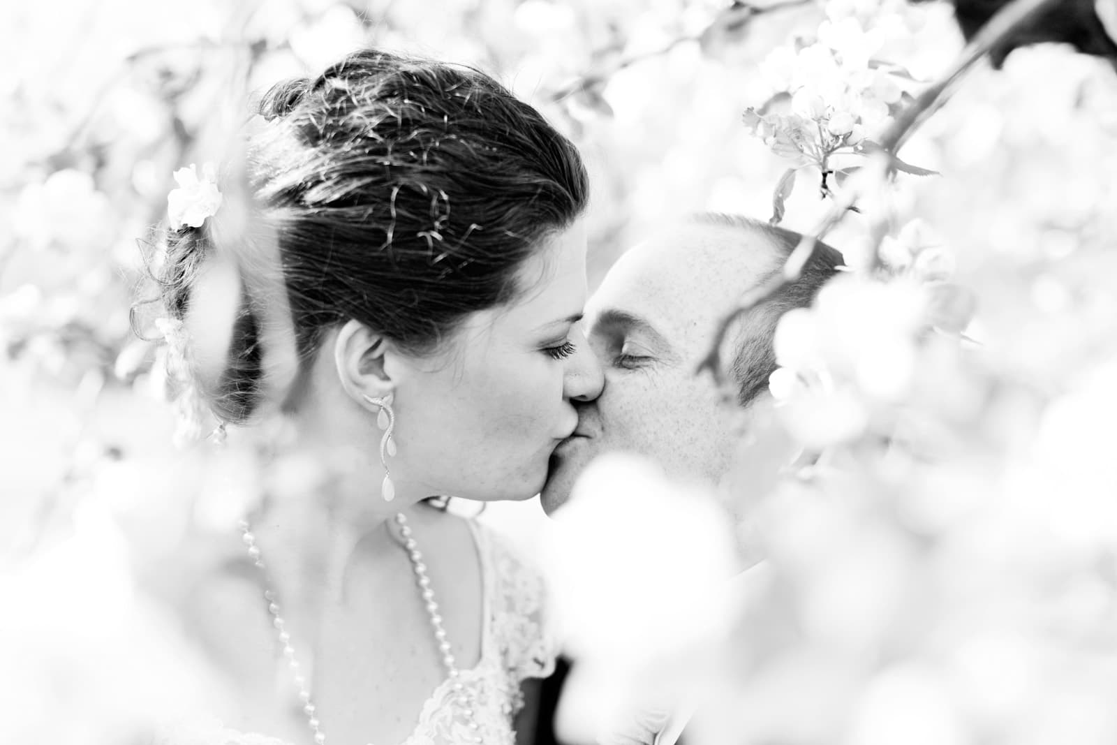 Parbillede ved bryllup