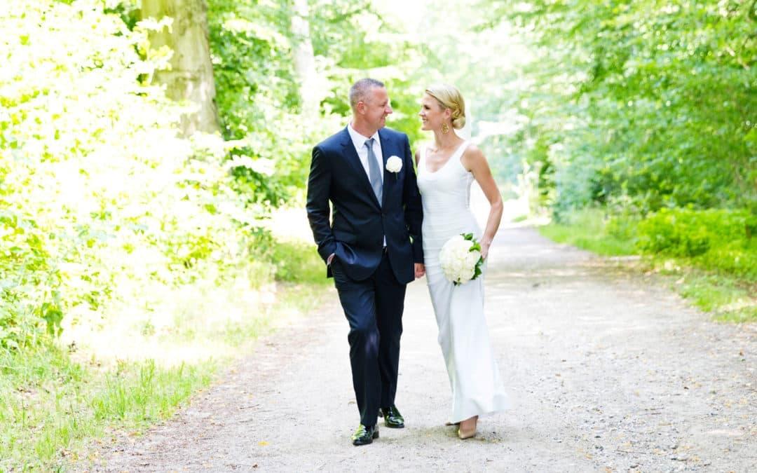 Bryllupsfotografering ved Kokkedal Slot