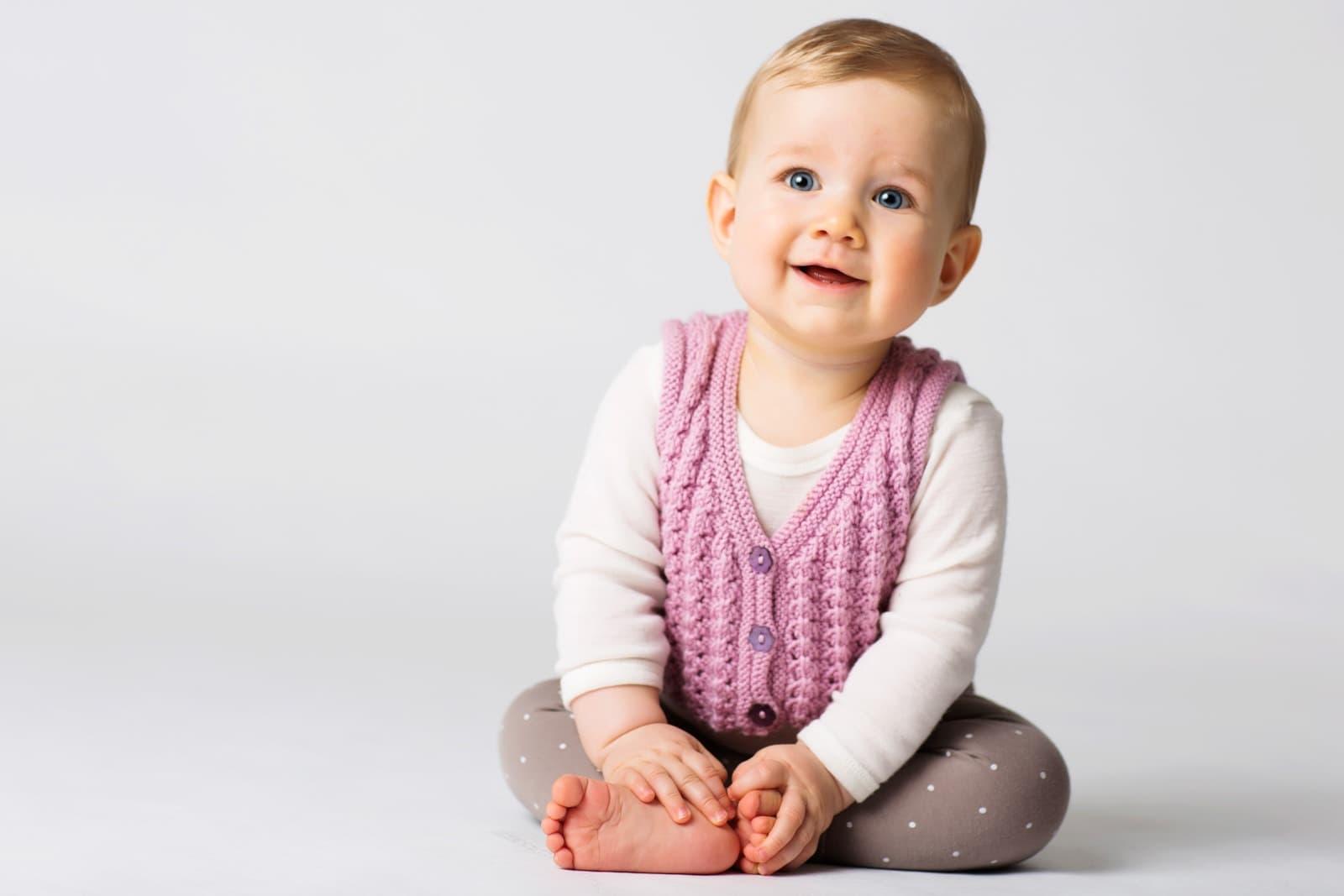 Baby sidder billede