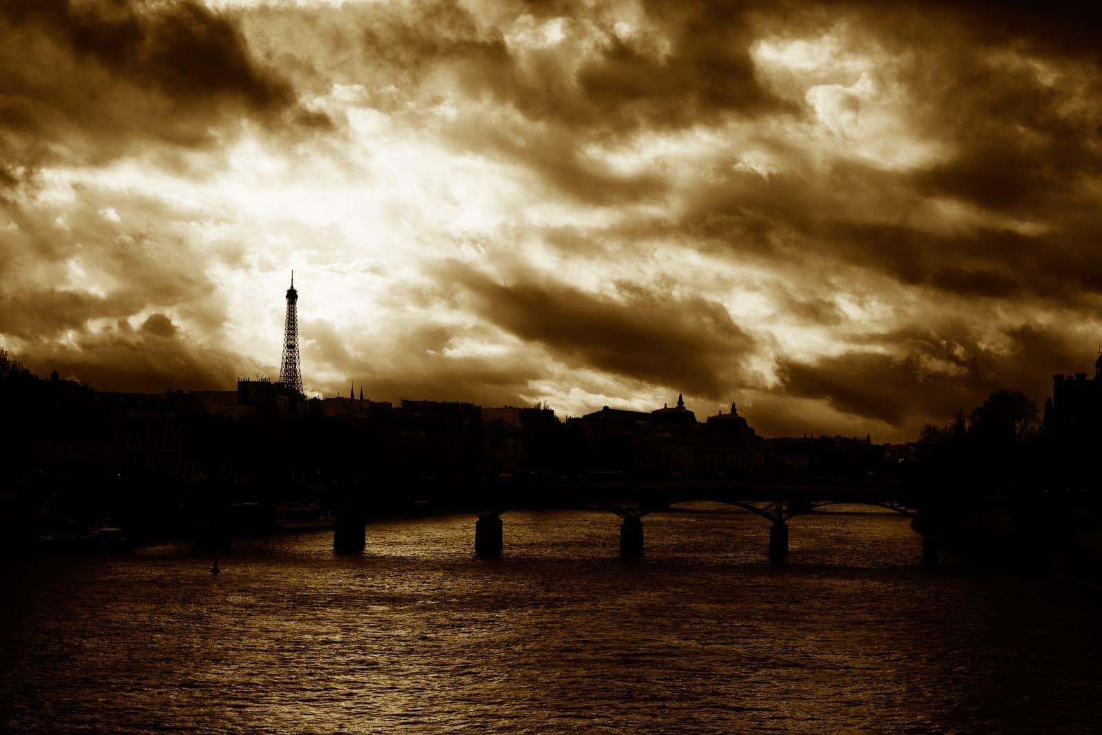 Udsigt til Eiffeltårnet