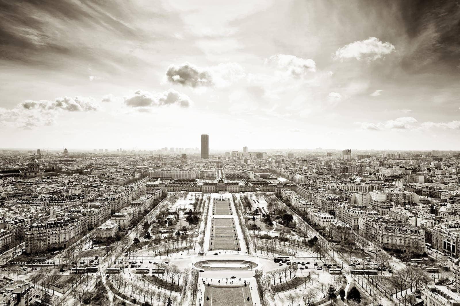 Udsigt over Paris
