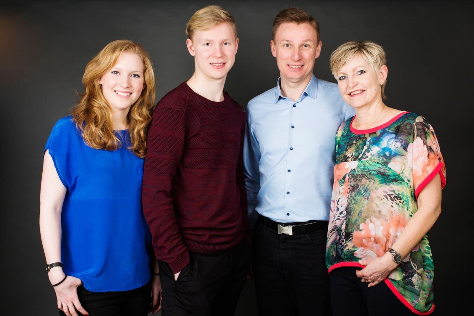 Familiebillede - familieportræt