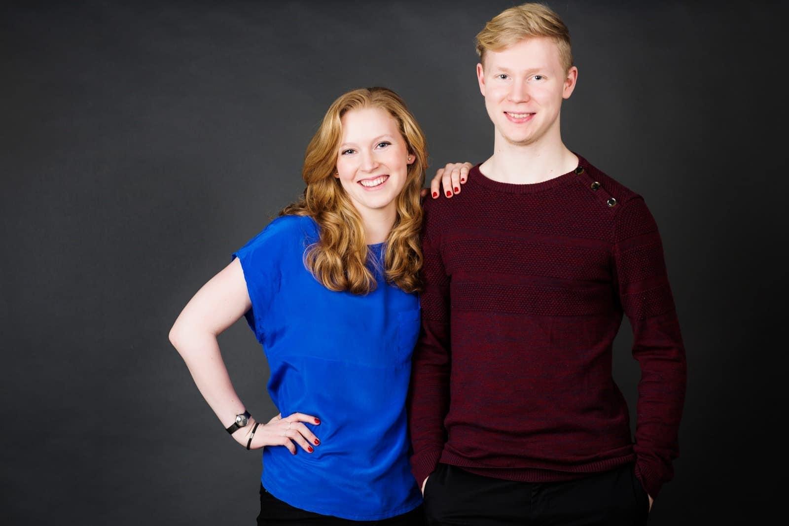 Bror og søster billede